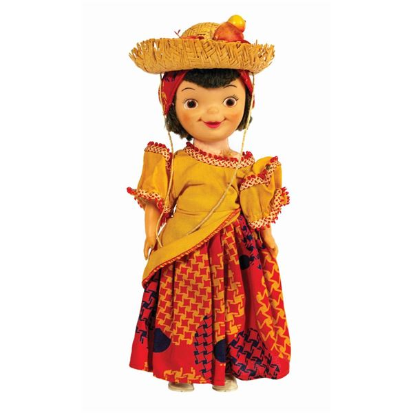 World's Fair It's a Small World South American Doll.