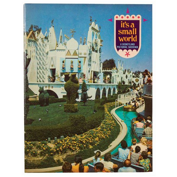 It's a Small World First Edition Souvenir Book.