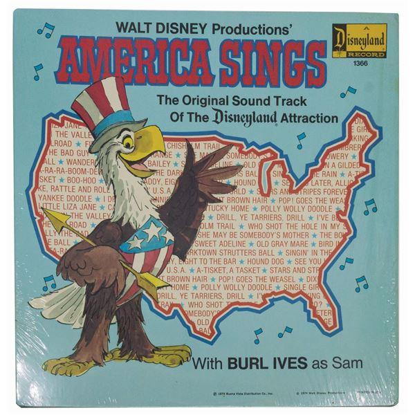America Sings Original Soundtrack Record.