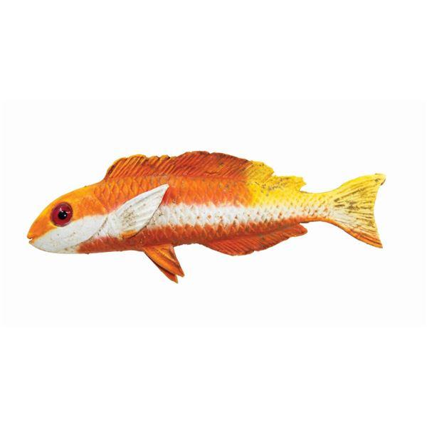 Orange Fish Prop from Submarine Voyage.