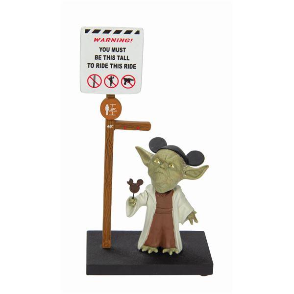 Yoda in the Park Bobblehead Figure.