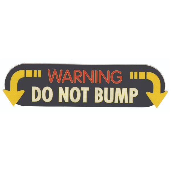 "Autopia ""Do Not Bump"" Vehicle Graphic."