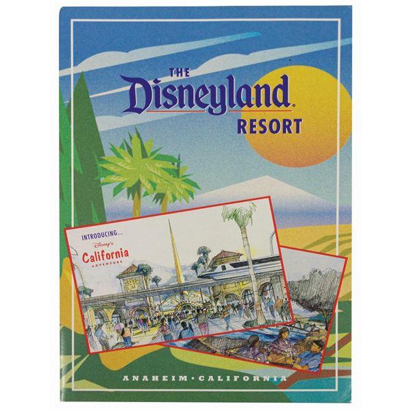 California Adventure Introductory Brochure.