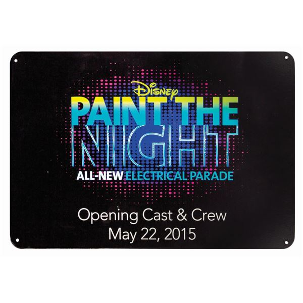 Paint the Night Grand Opening Sign.