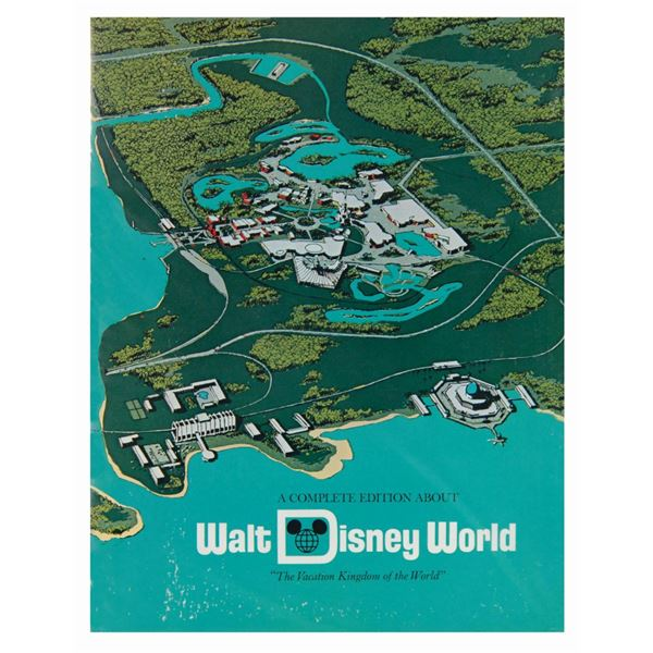 A Complete Edition About Walt Disney World Booklet.