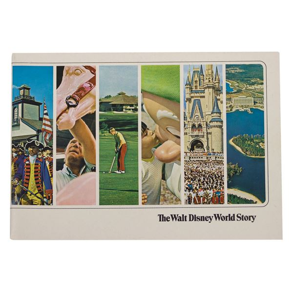 The Walt Disney Story Booklet.