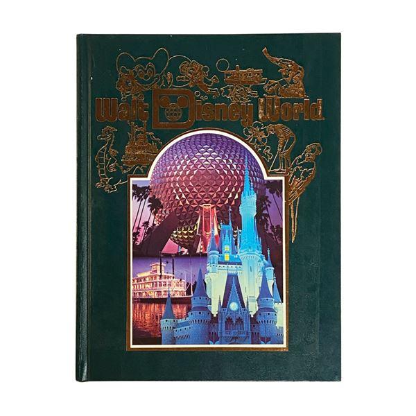 1986 Hardcover Walt Disney World Book.