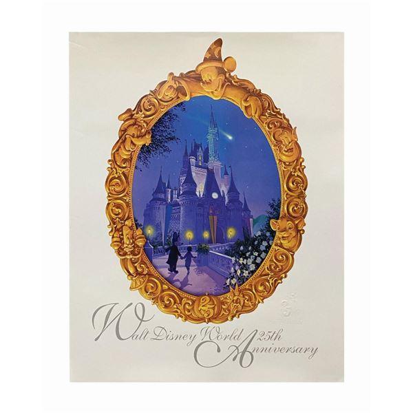 Walt Disney World 25th Anniversary Poster.