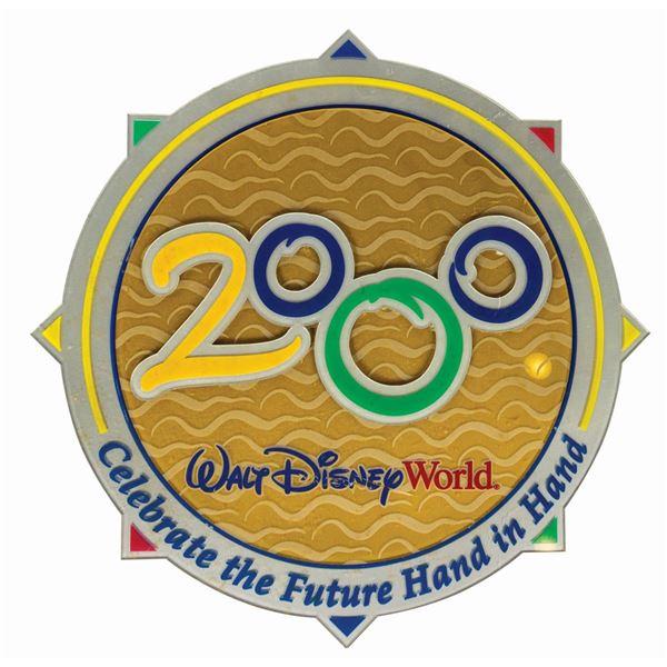 Walt Disney World 2000 Sign.