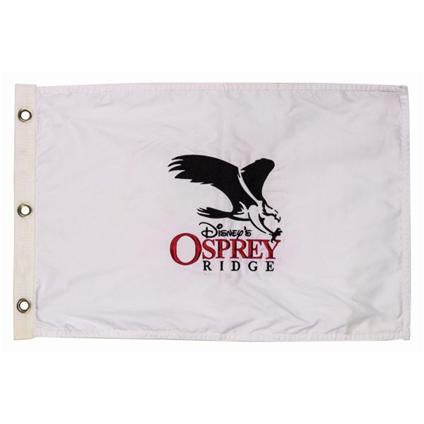 Disney's Osprey Ridge Golf Course Flag.