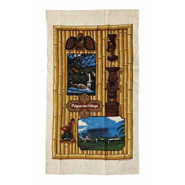 Polynesian Village Linen Towel.