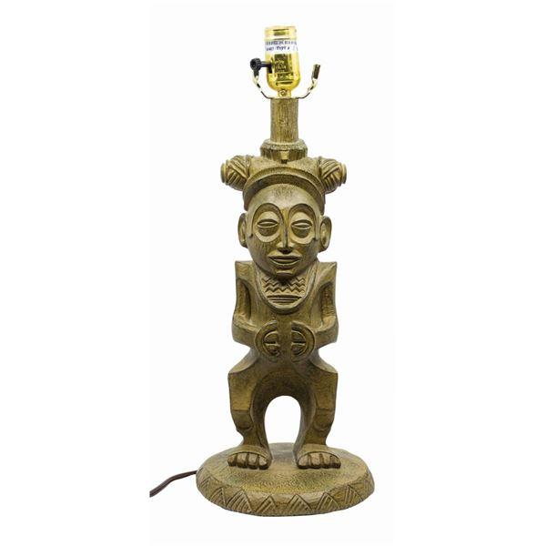 Polynesian Village Resort Tiki Lamp.