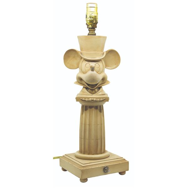 Grand Floridian Mickey Mouse Lamp.
