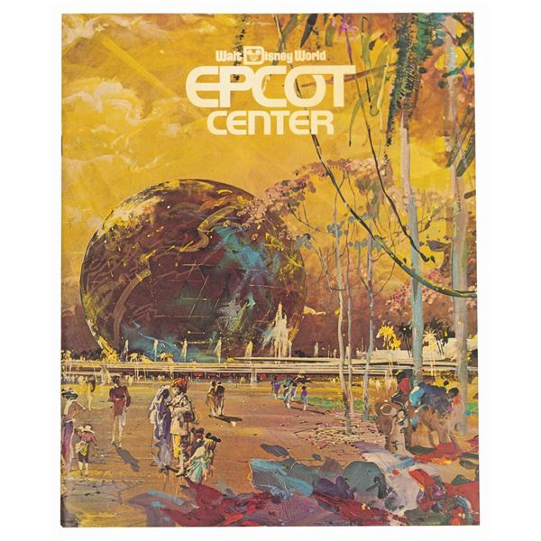Epcot Pre-Opening Booklet.