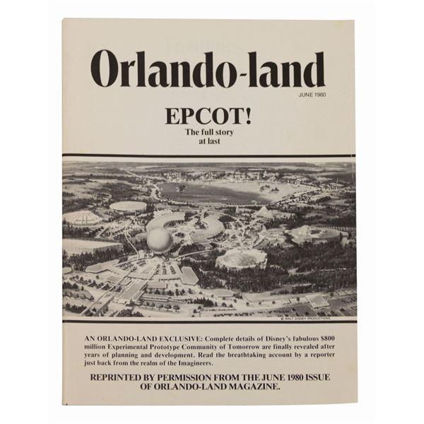 Orlando-land Epcot Issue Reprint.