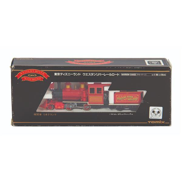 Tokyo Disneyland Western River Railroad Model Engine.