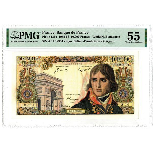 Banque de France, 1956 Issued Banknote