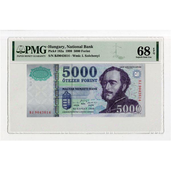 "Magyar Nemzeti Bank. 1999. ""Top Pop"", High Grade Issued Note"