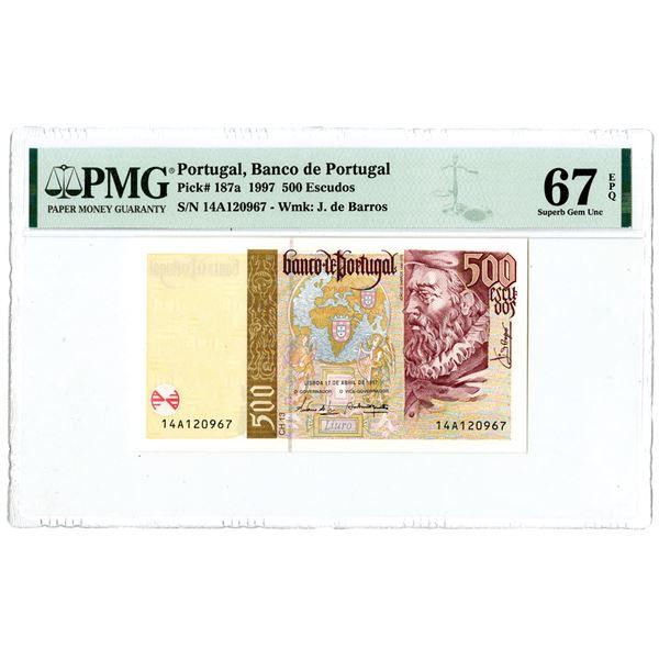 Banco de Portugal. 1997, High Grade Issued Note.