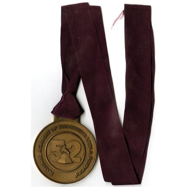 52nd Grammy Nominee Medal with Ribbon