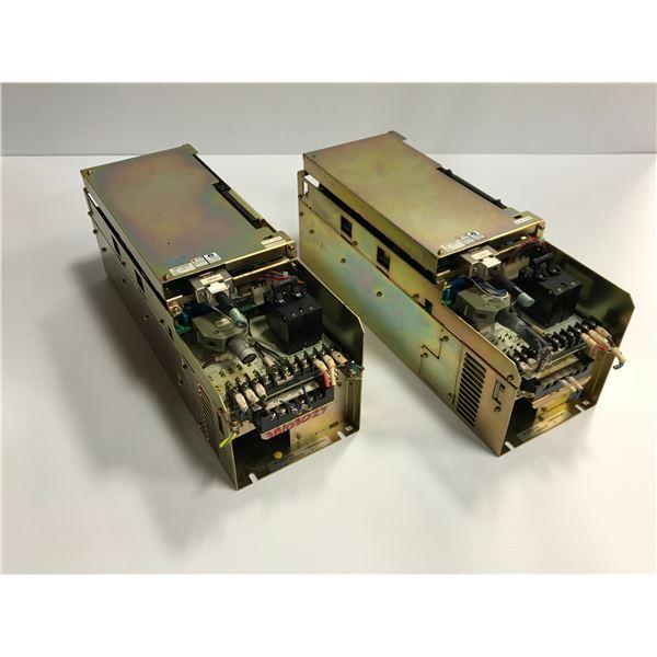 (2) Toyoda #AP-A030/120 F2BA050SFW00 Servo Amplifier