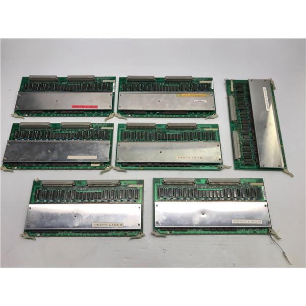 Lot of (7) Yaskawa JANCD-MM13-00 Circuit Board