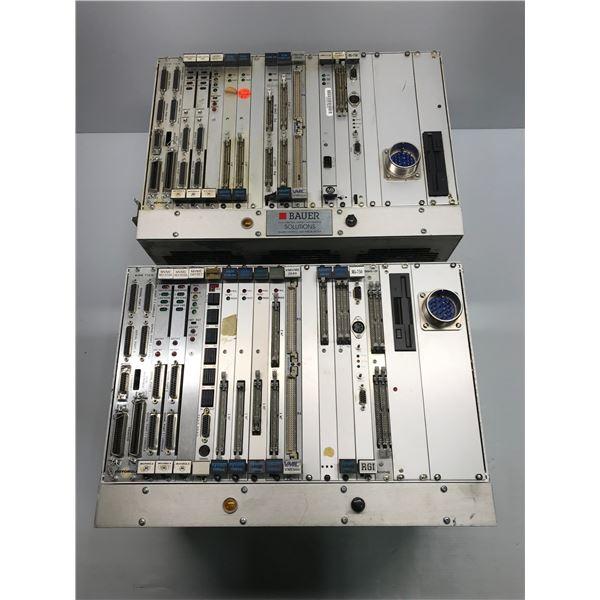 Lot of (2) Motorola / Xycom Module Rack