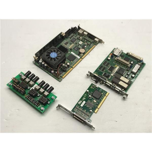 Lot of (4) Misc. Circuit Boards