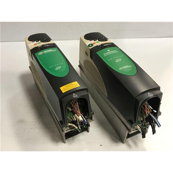 (2) CONTROL TECHNIQUES SP1403 UNIDRIVE