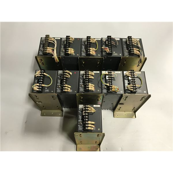 Lot of (11) Nemic lambda PS-12-24 power supply