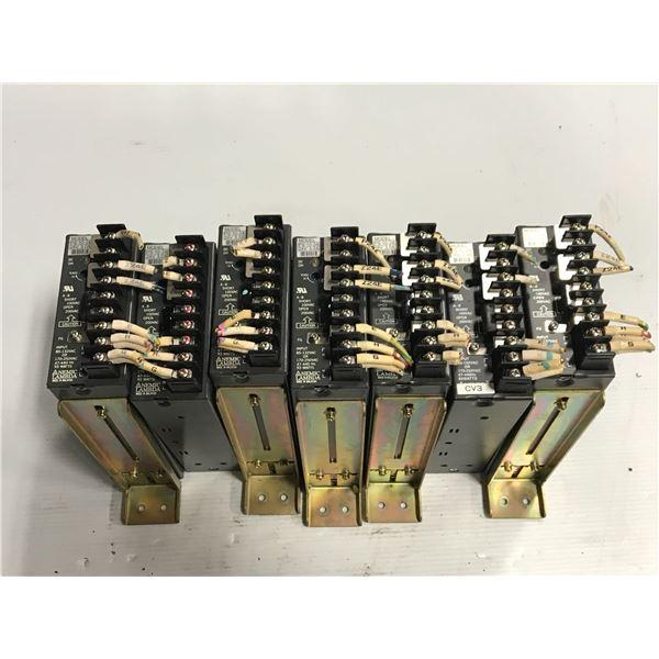 Lot of (7) Nemic lambda PS-10-24 power supply
