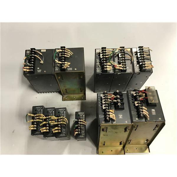 Lot of (11) Nemic lambda power supply