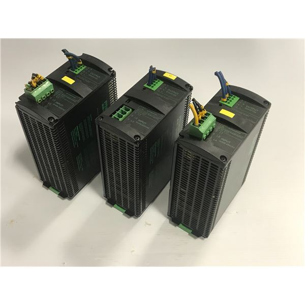 Lot of (3) Murr #MCS10-3x400-500/24 Power Supply
