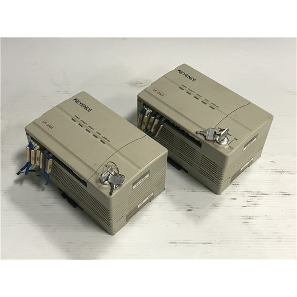 (2) Keyence LK-2101 Laser Sensor