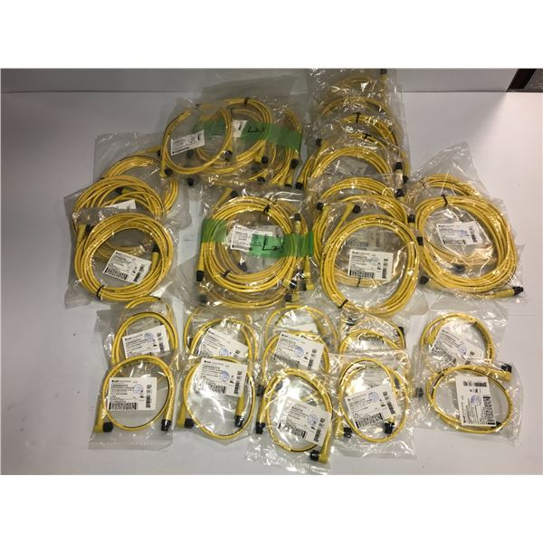 Lot of Brad Connectivity Cables