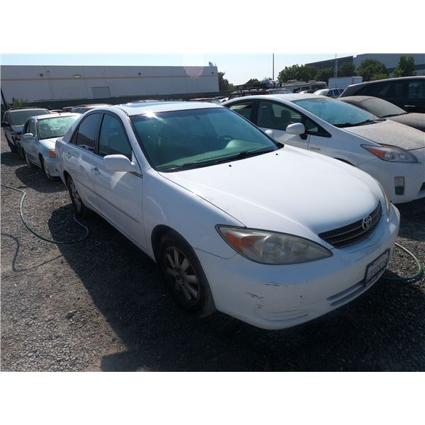 TOYOTA CAMRY 2002 T-DONATION