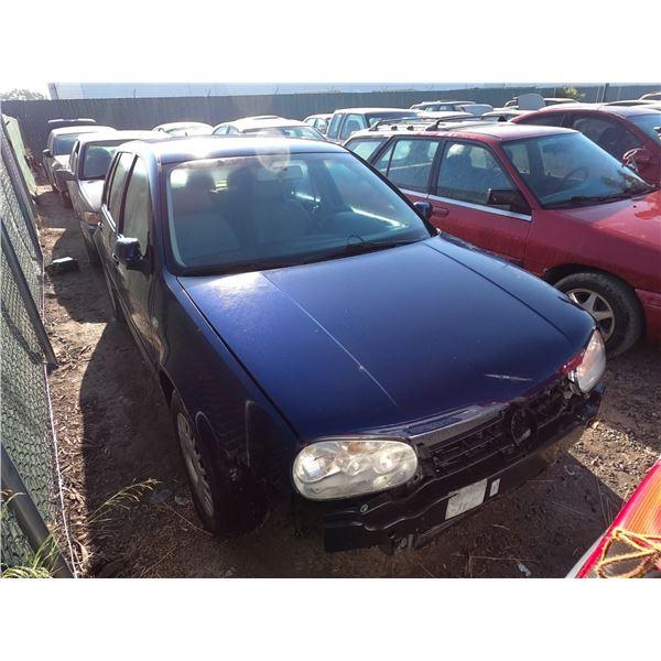 VW GOLF 2002 T-DONATION