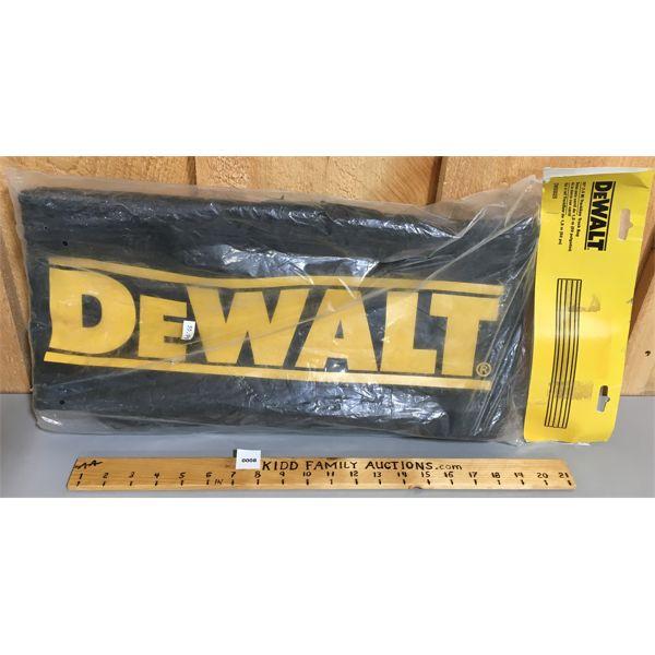DEWALT 59 INCH TRACKSAW TRACK BAG  - NEW