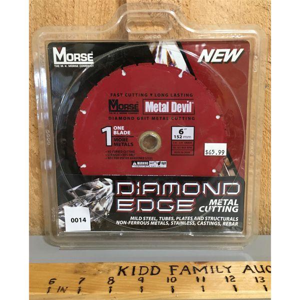 MORSE 6 INCH DIAMOND BLADE - NEW