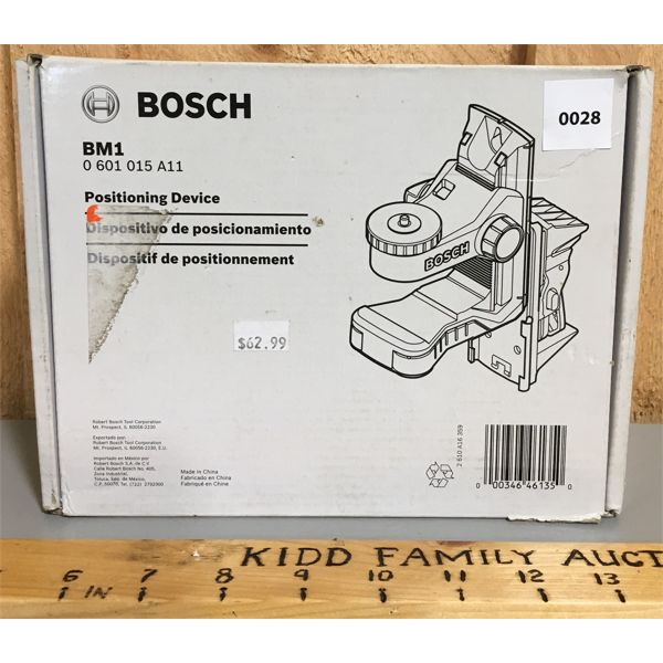 BOSCH POSITIONING DEVICE - NEW