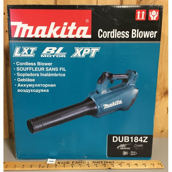 MAKITA CORDLESS BLOWER - 18V - NEW