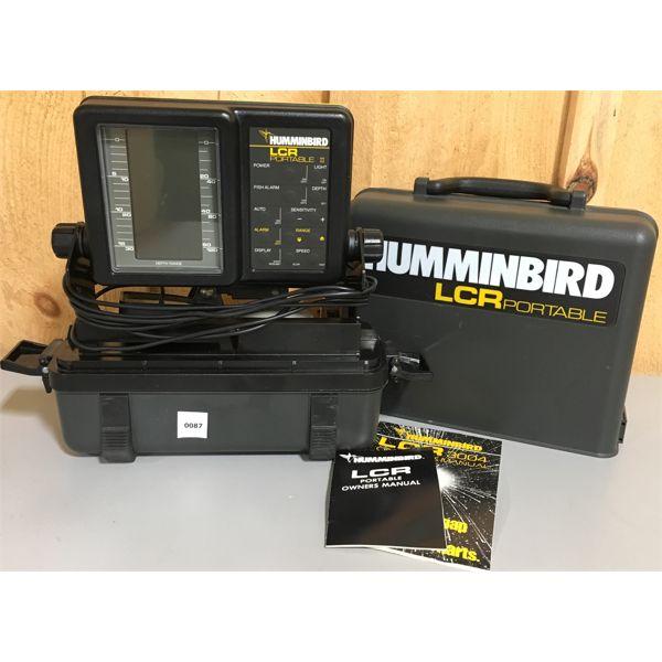HUMMINGBIRD LCR FISHFINDER - NEW BATTERIES & WORKING