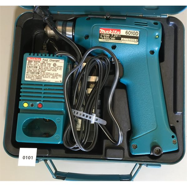 MAKITA DRILL W/ BATTERIES & CHARGER - NEW