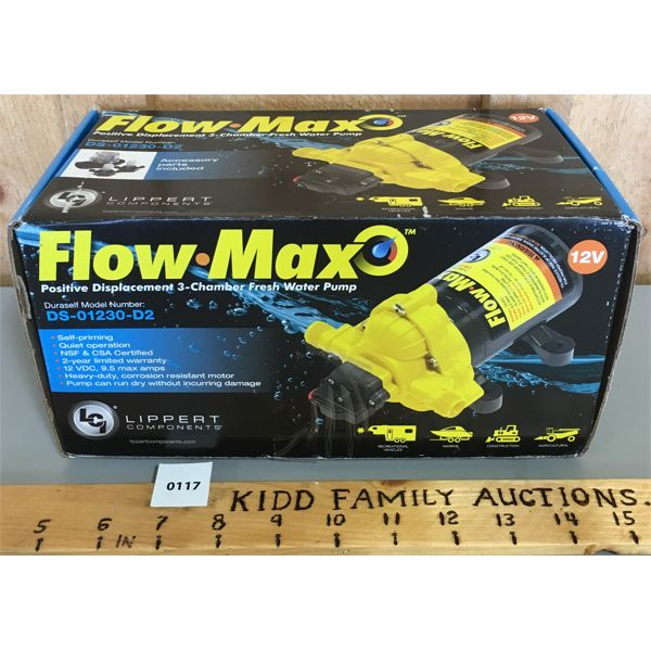 FLOW-MAX WATER PUMP - AS NEW