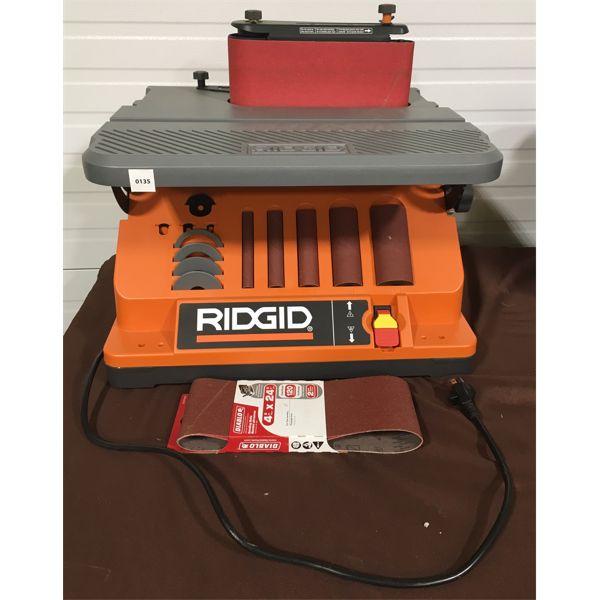 RIDGID OSCILLATING SANDER W/ STAND