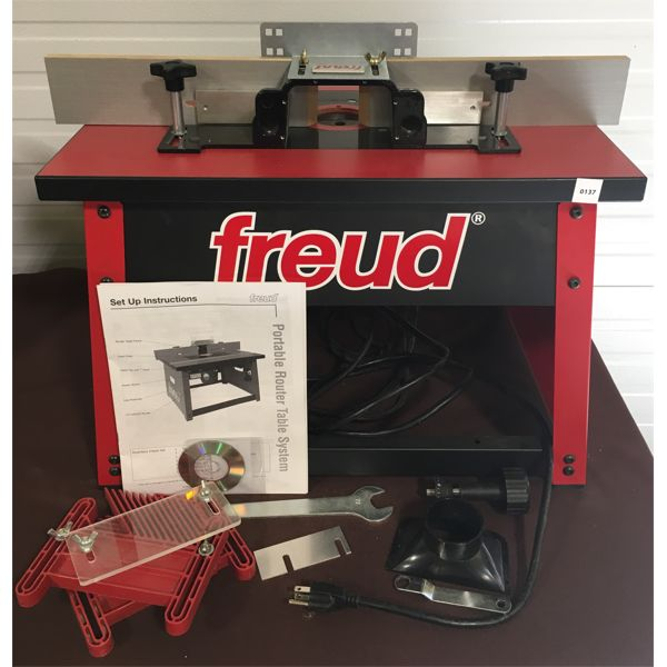 FREUD 2 1/4 HP ROUTER W/ TABLE