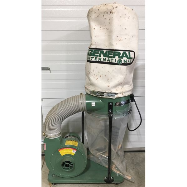 GENERAL INTERNATIONAL DUST COLLECTION SYSTEM - 1 HP