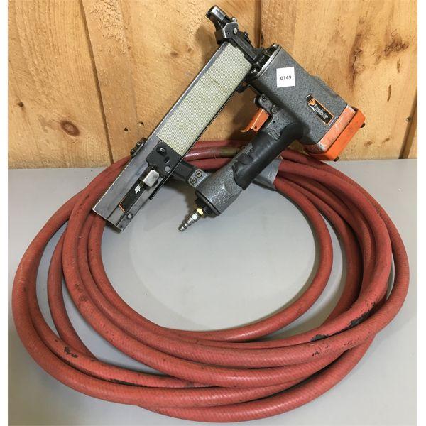 PASLODE AIR STAPLER W/ HOSE - 120 PSI