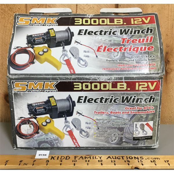 3000 LB ELEC WINCH - NEW