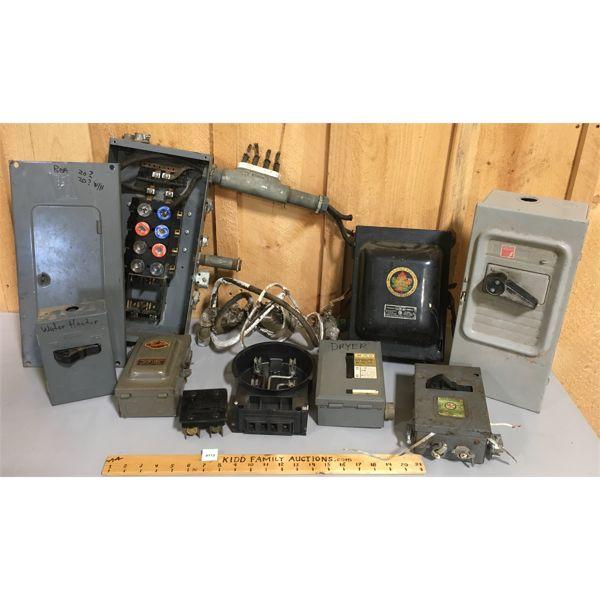 JOB LOT - ELECTRICAL BOXES